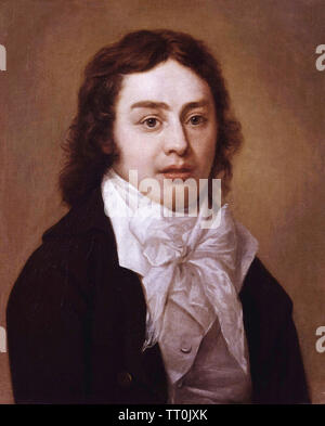SAMUEL TAYLOR COLERIDGE (1772-1834) poète et philosophe anglais en 1795 Photo Stock