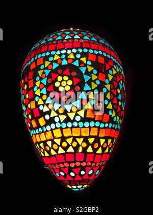 Plafonnier coloré Photo Stock