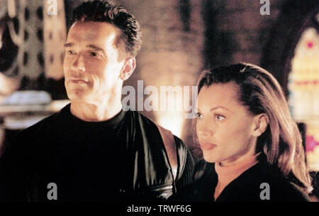 ERASER 1996 Warner Bros film avec Arnold Schwarzenegger et Vanessa Williams Photo Stock