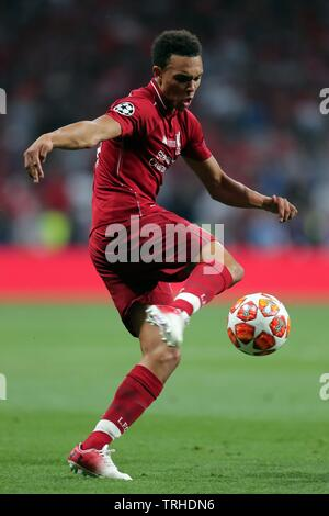 ALEXANDER TRENT-ARNOLD, LIVERPOOL FC, 2019 Photo Stock
