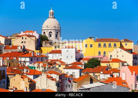 D'Alfama, Lisbonne, Portugal, Photo Stock