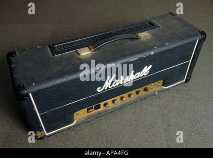 Ampli de guitare vintage Photo Stock
