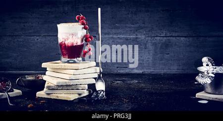 Cappuccino congelé Photo Stock