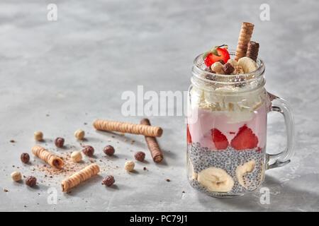 Le dessert, le petit déjeuner, desserts Photo Stock