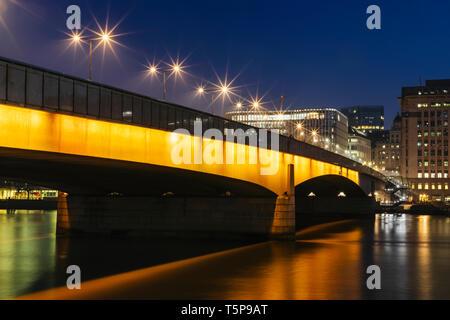 L'Angleterre, Londres, Southwark, London Bridge, London Bridge City Photo Stock