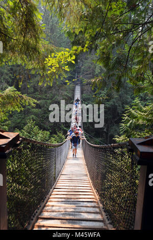 Lynn Canyon Park, Vancouver, BC Canada Photo Stock