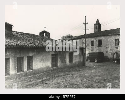 Macomer Nuoro Sardaigne S. Croce, c'est mon l'Italie, les pays de l'italien, l'histoire visuelle de l'architecture post-médiévale Photo Stock
