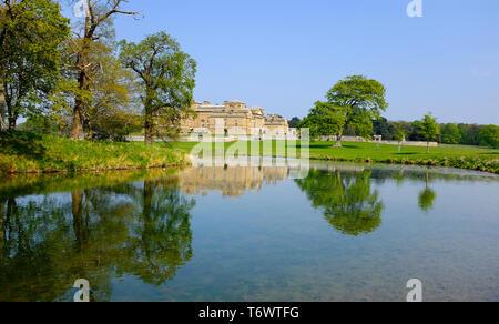 Holkham Hall, North Norfolk, Angleterre Photo Stock