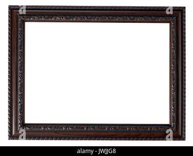 Cadre Photo en bois peint Photo Stock