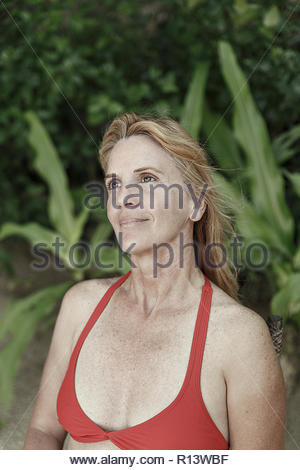 Portrait d'une femme Photo Stock