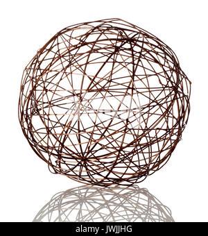 Sphère fil Photo Stock