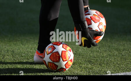 Madrid, Espagne. 01 Juin, 2019. Ligue des Champions de football, Adidas v Tottenham Hotspur FC Liverpool FC, 2019 Allstar Crédit: photo library/Alamy Live News Photo Stock