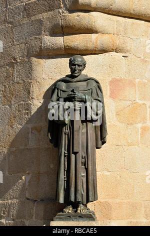 San Pedro de Alcantara. Site du patrimoine mondial de l'Unesco. Caceres, Espagne Photo Stock