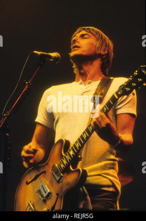 Musicien de rock anglais paul Weller sur 1997 Photo Stock