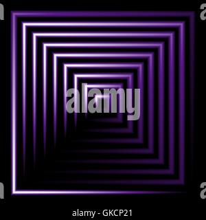 Purple flower square vector background Photo Stock