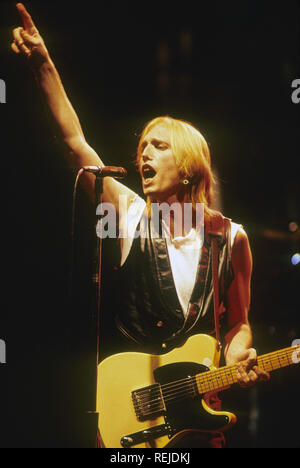 TOM PETTY musicien rock américain en 1987 Photo Stock