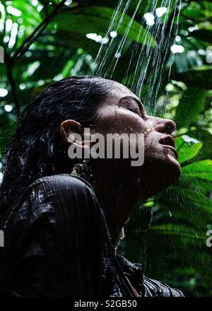 Âme excitée à Krabi - Thaïlande Photo Stock