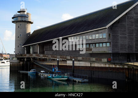 National Maritime Museum Cornwall, découverte Quay, Falmouth, Cornwall Photo Stock