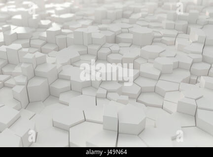 Résumé arrière-plan 3D - 3D illustration Photo Stock