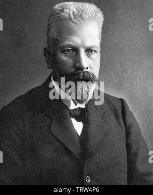 EDUARD BUCHNER (1860-1917) chimiste allemand en 1907 Photo Stock