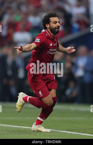 MOHAMED SALAH, LIVERPOOL FC, 2019 Photo Stock