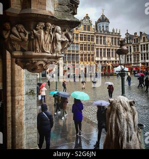 Bruxelles Grand Place Photo Stock