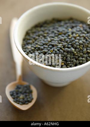 Lentilles du Puy avec shot pro Hasselblad appareil photo numérique moyen format Photo Stock