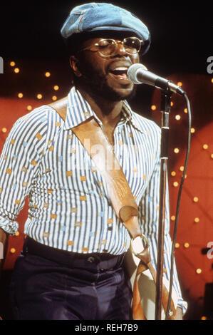 WILSON PICKETT (1941-2006), chanteur et compositeur américain vers 1974 Photo Stock
