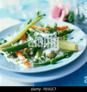 Légumes de printemps Photo Stock