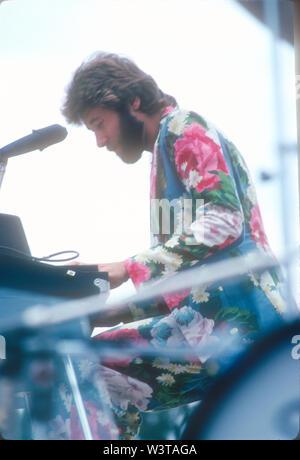 LOS ANGELES, CA - le 07 mars: Chicago produisent, circa 1974, à divers endroits dans la région de Los Angeles, Californie. Photo Stock