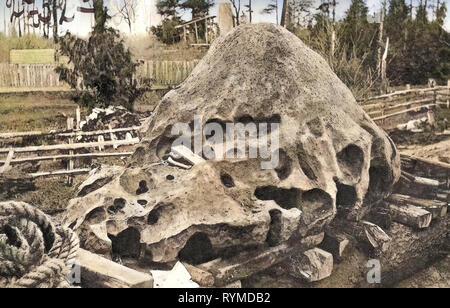 1906, Oregon, Oregon City, météorite découvert dans l'Oregon City, États-Unis d'Amérique Photo Stock
