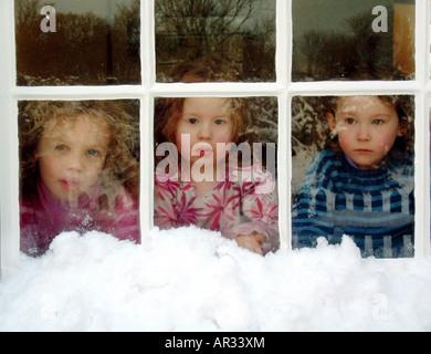 Fenêtre de Photo Stock