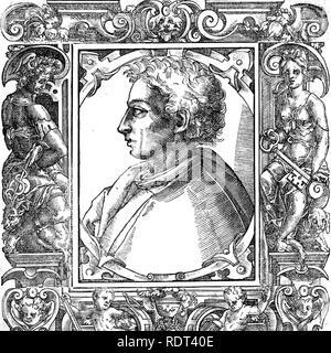 LEON BATISTA (1404-1472) poète italien de la Renaissance, linguiste et philosophe Photo Stock