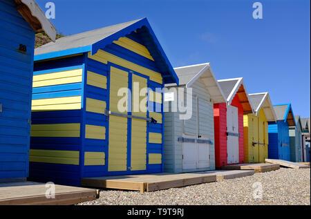 Overstrand beach, North Norfolk, Angleterre Photo Stock