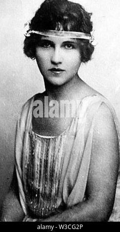 ALMA RATTENBURY (1892-1935) prodige musical canadien impliqué dans un scandale des années 1930 et, plus tard, s'est suicidé Photo Stock