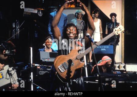 Groupe de rock britannique imagination sur 1983 Photo Stock