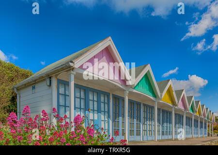 À Weymouth, Dorset UK en Mai - effet hdr Photo Stock
