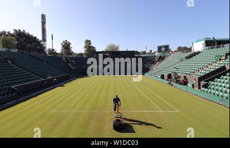 Wimbledon, Londres, Royaume-Uni. 2 juillet 2019. Jour 2 Préparation des championnats, le tournoi de Wimbledon 2019, 2019 Allstar Crédit: photo library/Alamy Live News Photo Stock