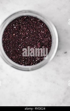 Le sumac dans les Jar Photo Stock