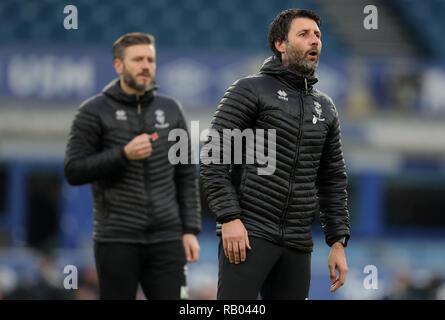 NICKY CROWLEY,DANNY CROWLEY, FC Everton V LINCOLN CITY, unis en FA Cup, GOODISON PARK, Everton, en Angleterre, 05 Janvier 2019 Photo Stock