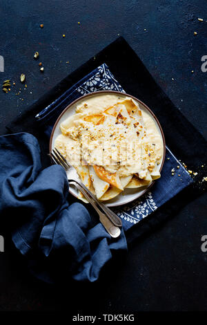 Sweet, dessert indien rustique. Photo Stock