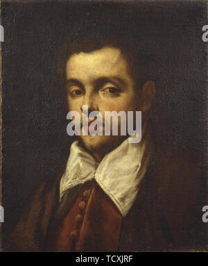 Portrait de Marco Pasqualigo , années 1580. On trouve dans la collection de Museo di Castelvecchio, Vérone. Photo Stock