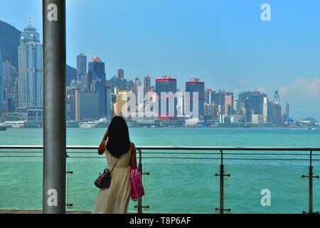 République populaire de Chine (Région administrative spéciale), Hong Kong Photo Stock