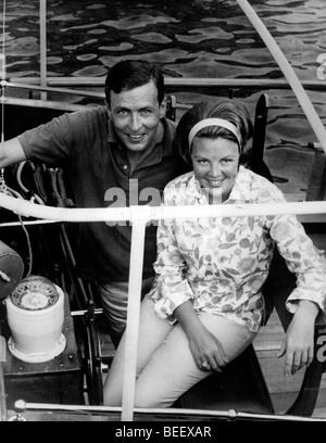 La Reine Beatrix des Pays-Bas et son mari Claus von Amsberg. Photo Stock