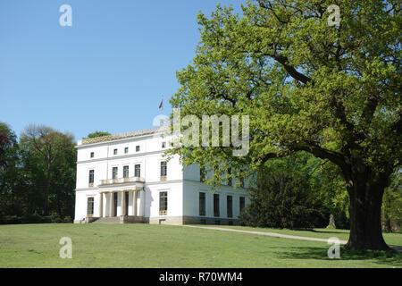 La maison à Hambourg othmarschen jenisch Photo Stock