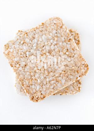Ricecakes avec shot moyen format professionnel digital Photo Stock