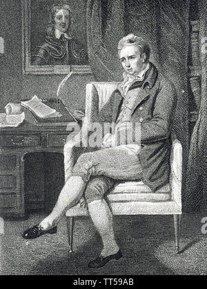 WILLIAM COBBETT (1763-1835) English farmer ,journaliste et réformateur électoral Photo Stock