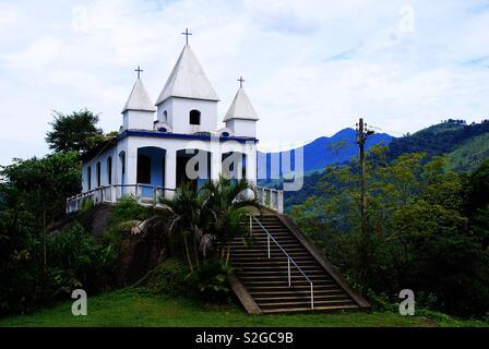 Église à Paraty - Rio de Janeiro - Brésil Photo Stock