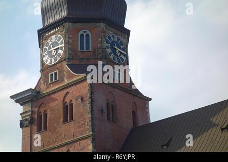 Principale église sankt katharinen à Hambourg Photo Stock