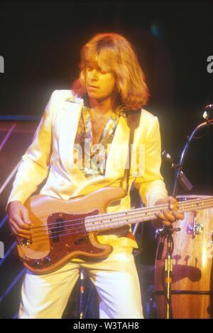 LOS ANGELES, CA - le 07 mars: Chicago produisent, circa 1978 à divers endroits à Los Angeles, Californie. Photo Stock